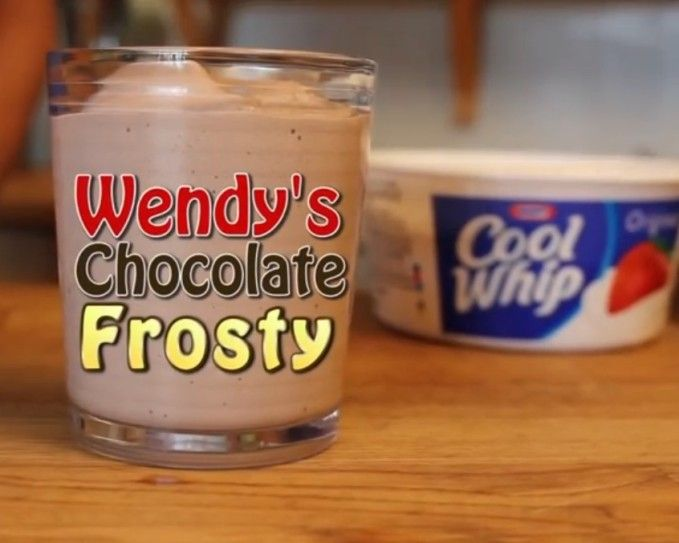 Wendy's Chocolate Frosty – 3 Ingredient Clone Recipe!