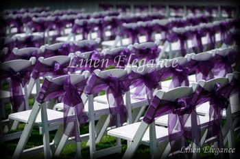 These sashes can make any chair look amazing!