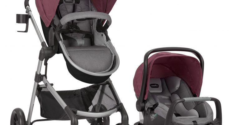 Evenflo pivot modular travel system lightweight stroller