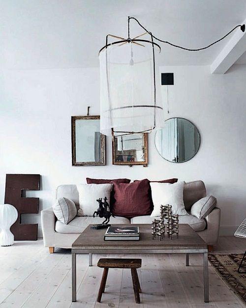 Oltre 25 fantastiche idee su dietro al divano su pinterest - Specchi da decorare ...