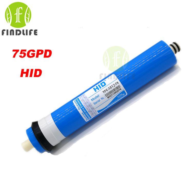 2016 HID 1812-75 GPD RO membrana TFC para sistema de tratamiento de ósmosis inversa 5 etapas del filtro de agua purificador NSF/Ansi