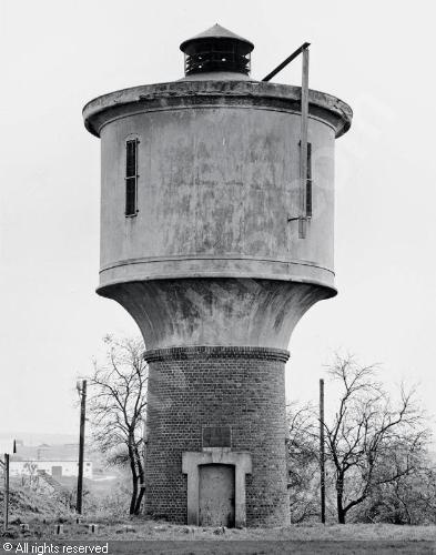 BECHER Bernd,Water tower,Galerie Gerda Bassenge, Berlin