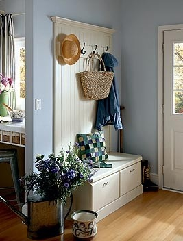 The Everyday Home: Back Door Friends Are Best! Love this entrance..