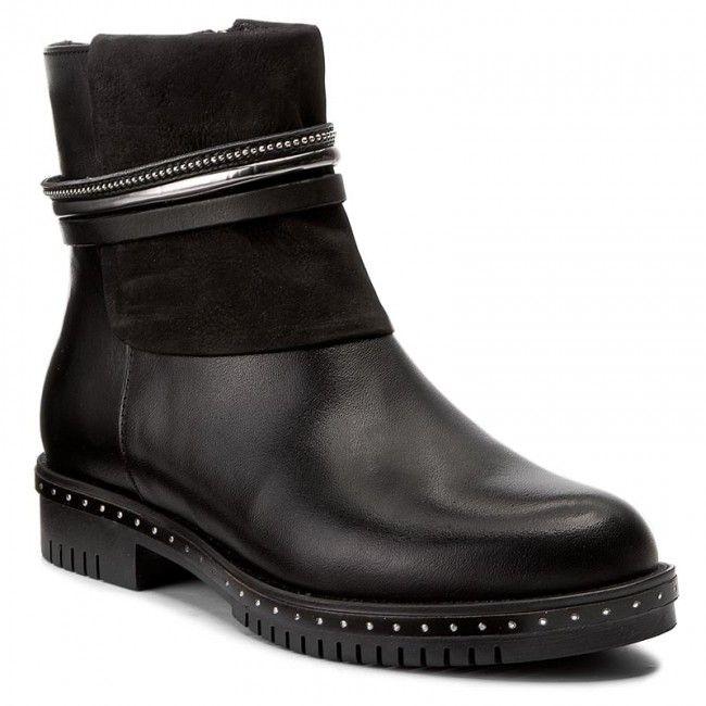 W.Ankle, Desert Boots Femme, Noir (Nero), 38 EUPollini