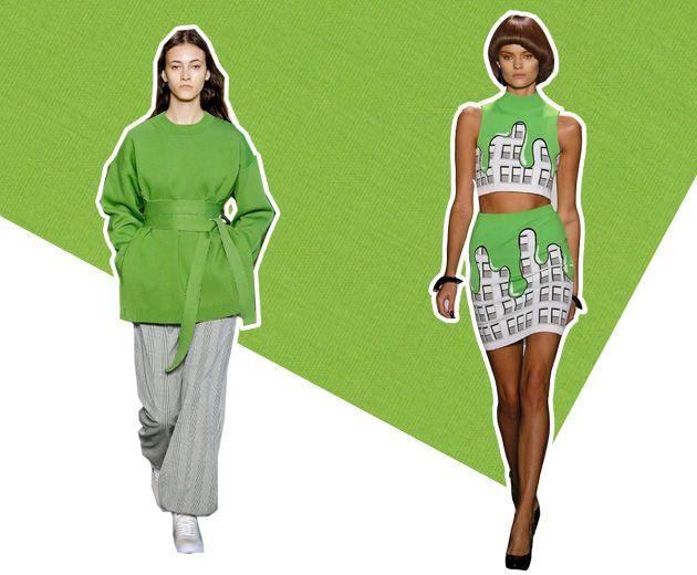 Greenery, um verde vibrante que apareceu nas passarelas da Lacoste e Jeremy Scott