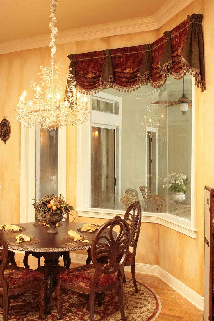 63a0d6124202324f2b128796df3ab85f 1200x1800 Pixels Drapes Curtains ValancesDraperyBed CrownRoom DecorTuscan Dining
