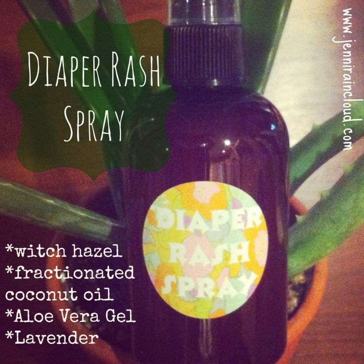 Diaper Rash Spray http://jenniraincloud.com/diaper-rash-spray-2/