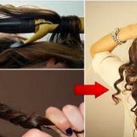 How To Curl Hair In 5 Minutes Without Using Heat Or Curl Role