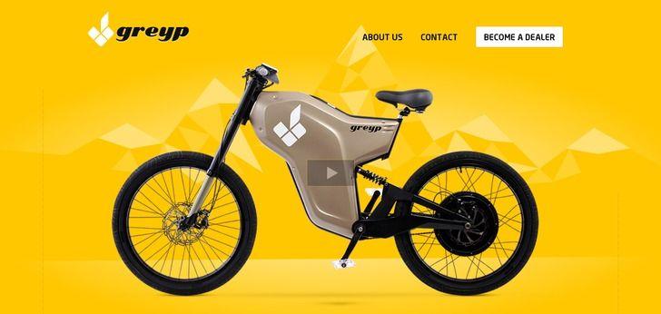 Awesome bikes, awesome web design ! http://www.webdesign-inspiration.com/web-design/greyp-bikes-com-8579