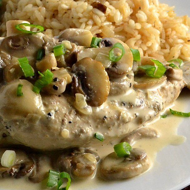 The Foodie Couple: Julia Child's Recipe for Chicken Breasts with Mushrooms &