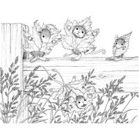 house of mouse coloring pages - photo#39
