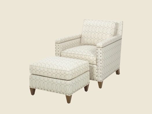 Lexington Upholstery Chase Chair Choice Of Finish And Fabric.