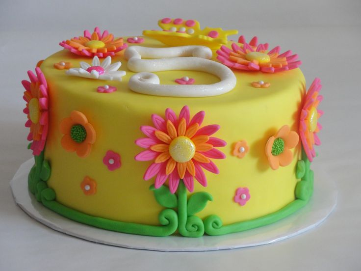 The  Best Images About Cakes On Pinterest Birthday Cakes Fire - Easy fondant birthday cakes