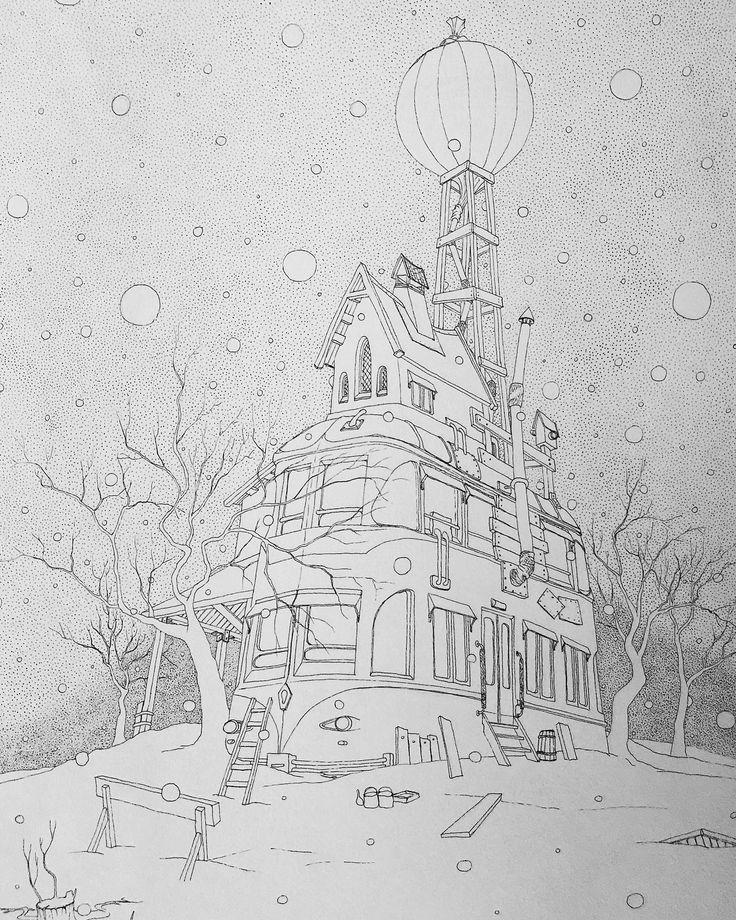 120 vind-ik-leuks, 6 reacties - Ярослав (@yarekapostol) op Instagram: 'Долгая зима. Тушь 297х420 мм Long winter. Ink on paper.  #instagram_underdogs #instagrammers…'