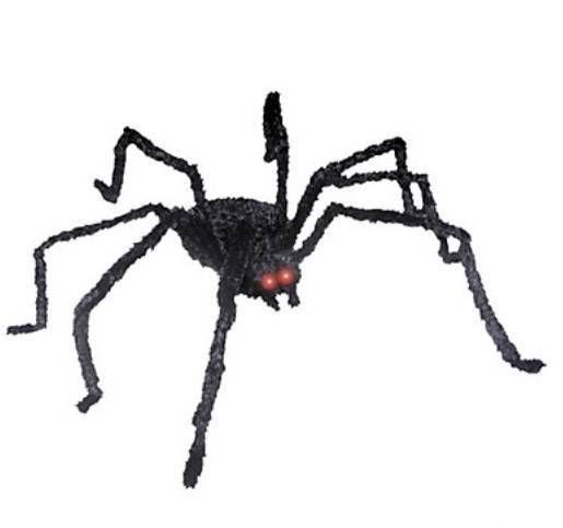 animated spider halloween decoration