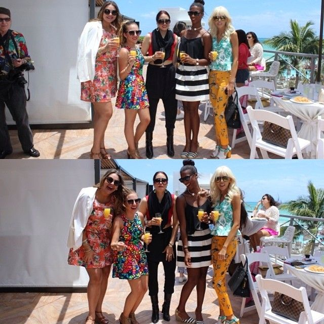 @t_fashionbible - My blogger babes at the fab @miamifashionweek... #WOAH #bigblack @fiercelythriftin @alamodemaya @Lori Williams-Martin @Adriana Kubieniec Lovely Imperfect #miafw14 #happymiafwbytous