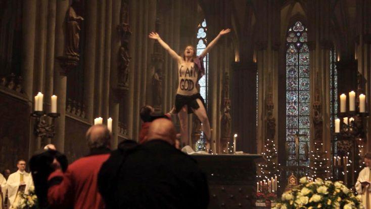 Interview mit Femen-Aktivistin: Frau Witt, warum halten Sie sich für Gott? - SPIEGEL ONLINE