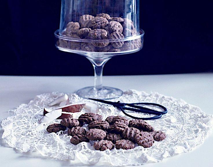 cocoa mini cookies