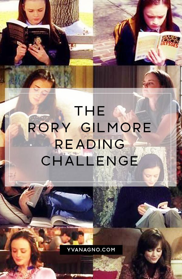 The Rory Gilmore Reading Challenge - YVAN AGNO