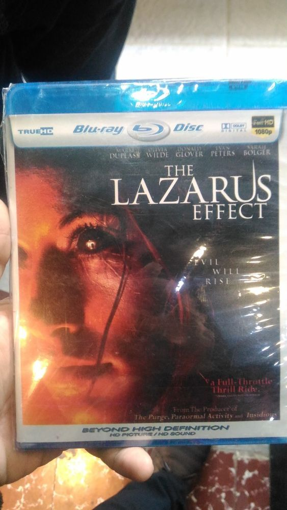 The Lazarus Effect Blu-Ray HD Picture Free Shipping