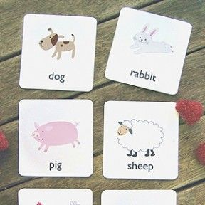 Tons of Printable Flashcards for Toddlers and Preschoolers