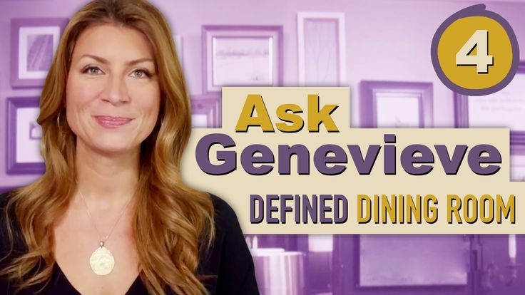 Dining Room Definition - Ask Genevieve - Episode 4