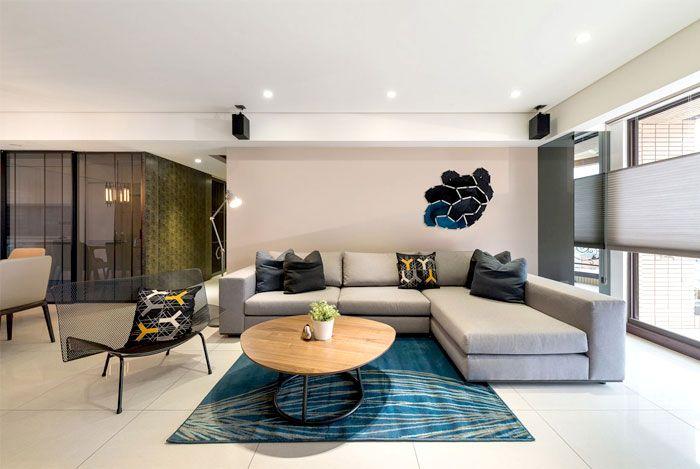 Modern Urban Dwelling by White Interior Design