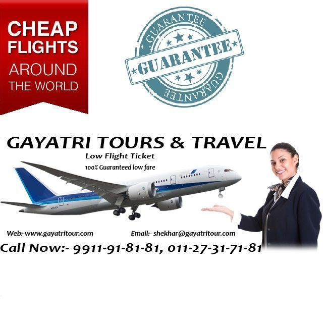 Cheap air tickets of best airlines. Get the best deal in air tickets. Flight ticket booking, cheap flight tickets, lowest air fares, airline ticket booking, cheap airline tickets. Call 9891-71-81-81, 9911-91-81-81, 7862918181 #lowcostflights