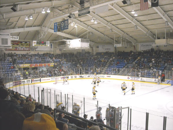 cambria county war memorial arena in johnstown pa this is
