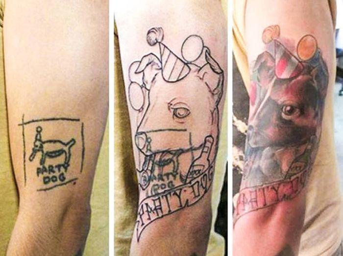 Конец неудачным татуировкам