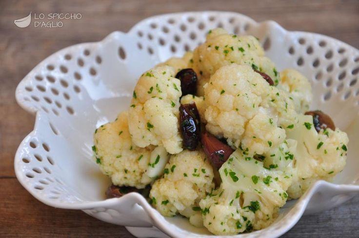 Insalata di cavolfiore alle olive