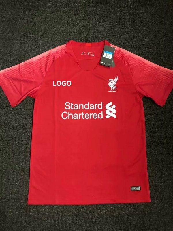 the best attitude f3a6d 8168a 19-20 Adult Liverpool Hme Red Thai Quality soccer jersey ...