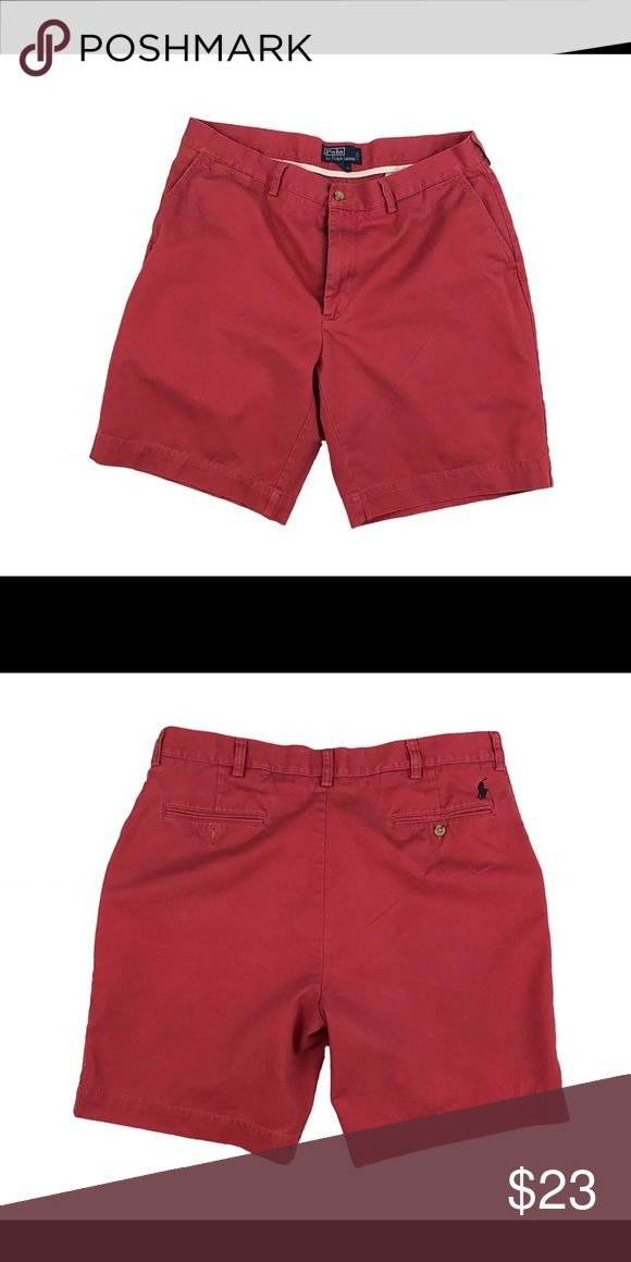 Ralph Lauren Polo Men's Chino Shorts 36W Ralph Lauren Polo Men's Chino Shorts 36W. The shorts are in good condition with no rips or stains. Thanks for looking!! Polo by Ralph Lauren Shorts Flat Front