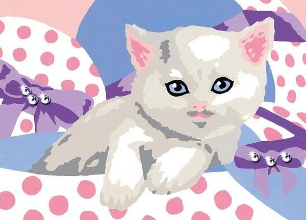 Glitzerndes Kätzchen Malen nach Zahlen Ravensburger online kaufen