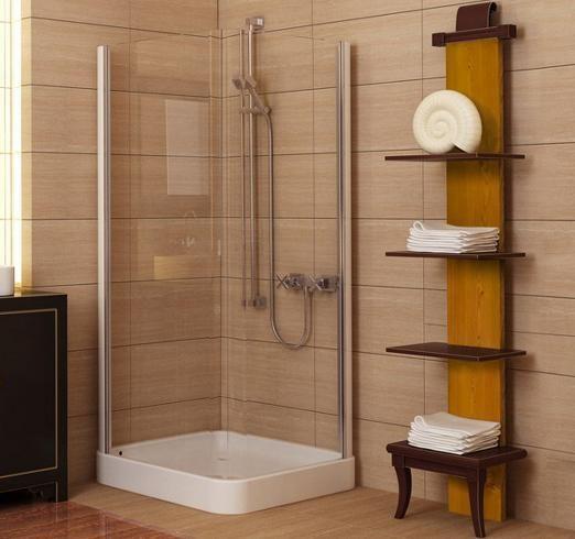 Imagen: baño en color beige.