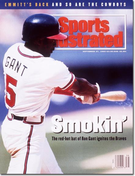 Ron Gant: SI cover boy ignited the Braves with his red-hot bat.