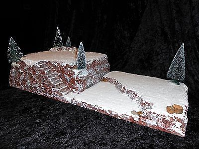 "Lemax Dept 56 Display Platform Base Christmas Village 24""x 12"" 