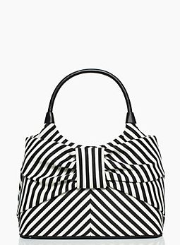 Striped bow bag by Kate Spade http://rstyle.me/n/y8ybn2bn