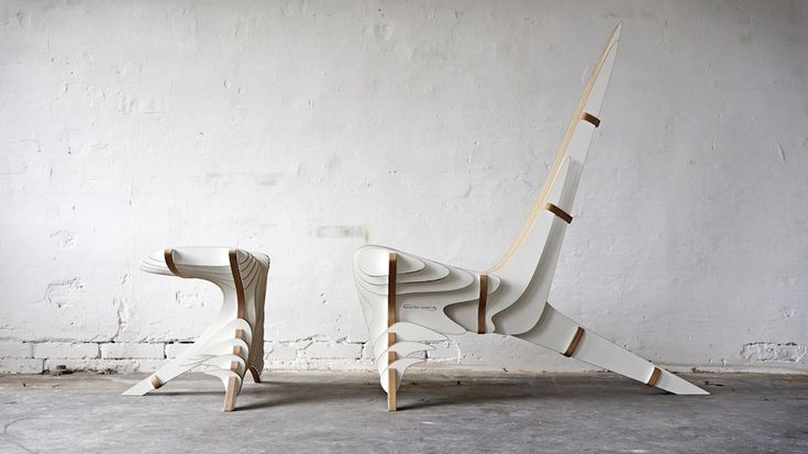 Graphic And Stylish Stool Furniture PETER QVIST