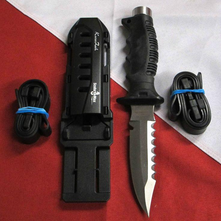 Dive Knife scuba max kn990 scuba equipment snorkel stainless blade leg straps #scubamax http://www.deepbluediving.org/suunto-zoop-novo-vs-suunto-zoop/