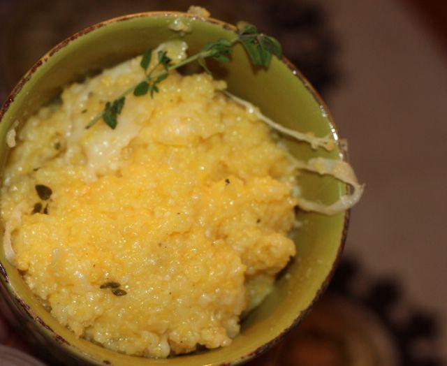 polenta plated
