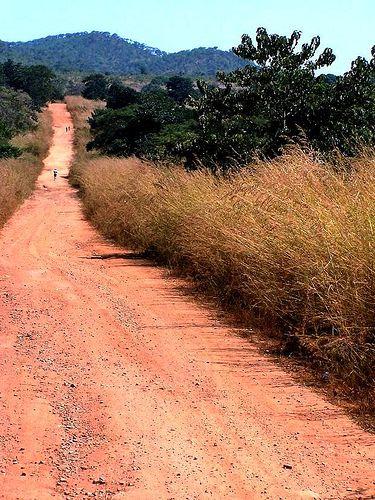 Dirt Road in eastern Zambia.  Photo: geoftheref via Flickr.