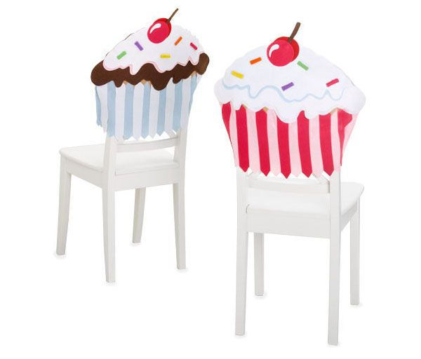 Cupcake Ottomans - All Things Cupcake