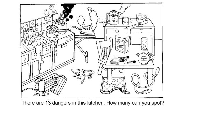 Image result for Find the dangers in the home for children