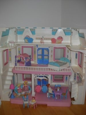 Fisher Price Loving Family Dream Dollhouse Babies Rare