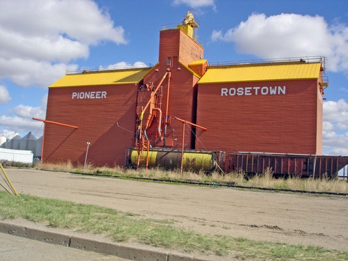 Rosetown. We passed through here every time we went from Eston to Saskatoon, or to Biggar, or North Battleford.