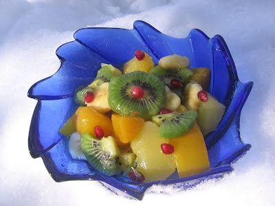 jurnalul unui om fără duminici: Salată de fructe exotice