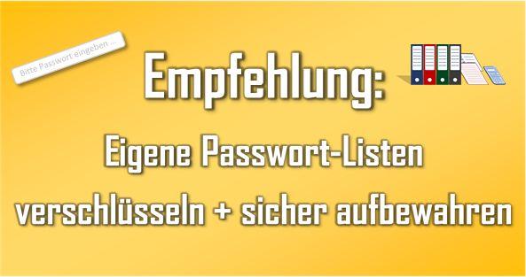 #Passwort #Sicherheit - Wie man seine #Passwörter #sicher aufbewahrt ... - Passwörter zu erstellen und sicher zu #verwalten, ist eigentlich kein Hexenwerk. Trotzdem erlebe ich immer wieder, dass Zugangsdaten auf Zetteln notiert werden und dann lose auf dem Schreibtisch liegen. Oder als Text-#Datei - in gesammelter Form - erstellt und direkt auf dem #Rechner #gespeichert werden. Wie man es besser machen kann und seine händisch notierten Passwörter sicher verwaltet, erfahrt ihr in diesem…