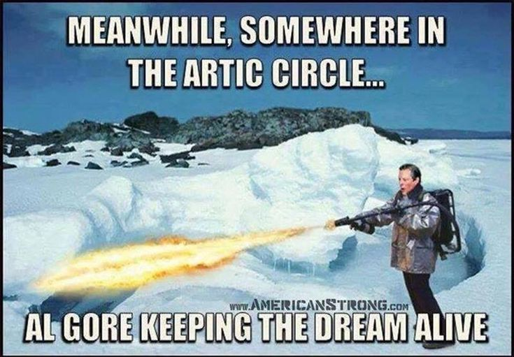 JOKE: After This Brutally Cold Winter Al Gore Has a New Job