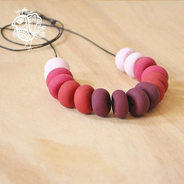 Handmade Coin Polymer Clay Necklace - Trembling, But Brave by ThatWeDo on Etsy https://www.etsy.com/listing/224484990/handmade-coin-polymer-clay-necklace